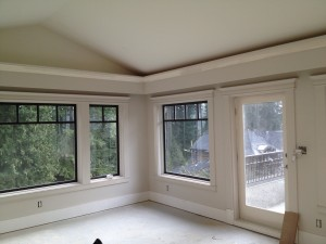 Crown moulding and interior trims