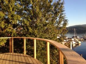 Custom railings and decks