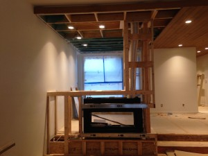 Fireplace enclosures and surrounds